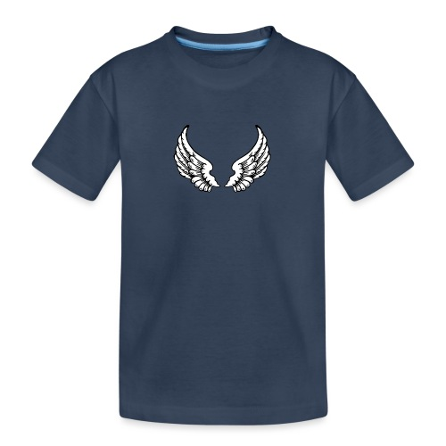 Angel Wings - Teenager Premium Organic T-Shirt
