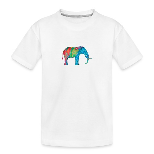 Elefant - Teenager Premium Organic T-Shirt