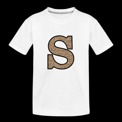 Girls S For Sonnit Golden Sparkle - Teenager Premium Organic T-Shirt
