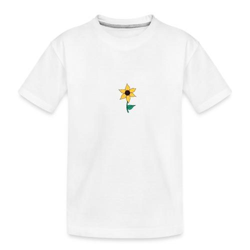 Sunflower - Teenager premium biologisch T-shirt
