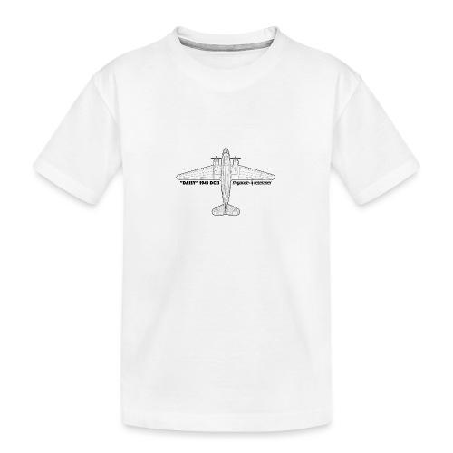 Daisy Blueprint Top 1 - Ekologisk premium-T-shirt tonåring