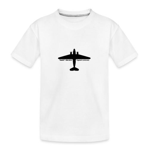 Daisy Silhouette Top 1 - Ekologisk premium-T-shirt tonåring
