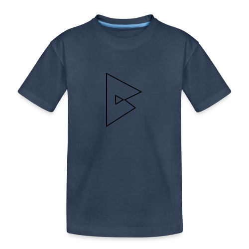 dstrbng official logo - Teenager Premium Organic T-Shirt