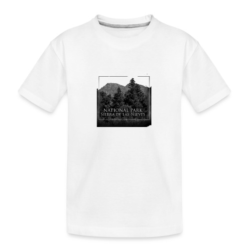 National Park Sierra de las Nieves - Camiseta orgánica premium adolescente