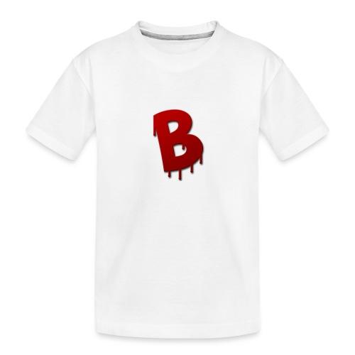 Rood Bartjuh - Teenager premium biologisch T-shirt