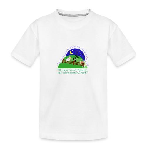 Schäfchen - Teenager Premium Bio T-Shirt