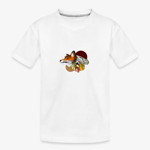 Autumn Foxey - Maglietta ecologica premium per ragazzi