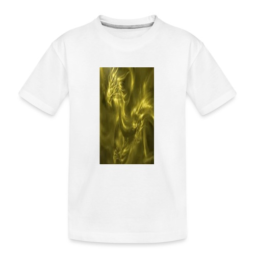 Sonnendrache - Teenager Premium Bio T-Shirt