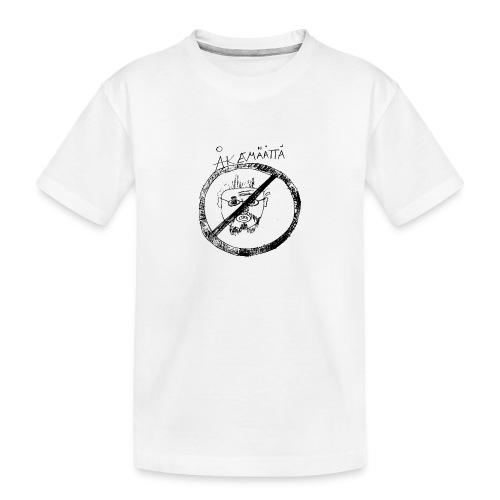 Mättää white - Ekologisk premium-T-shirt tonåring