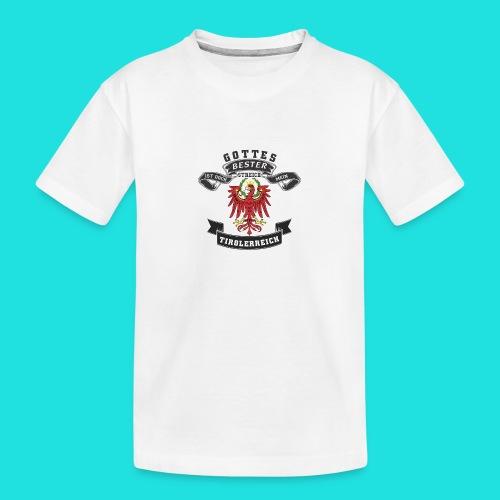 Tiroler - Teenager Premium Bio T-Shirt