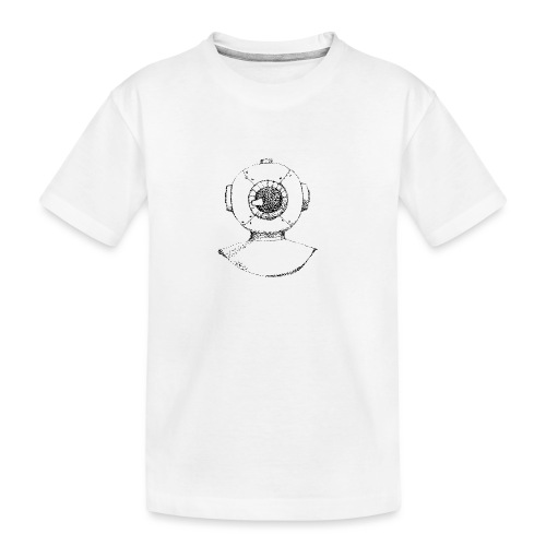 nautic eye - Teenager premium biologisch T-shirt