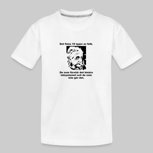 Det finns 10 Typer - Ekologisk premium-T-shirt tonåring