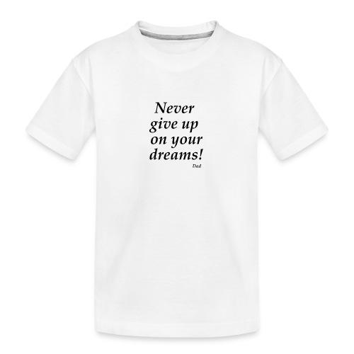 From Dad - Ekologisk premium-T-shirt tonåring