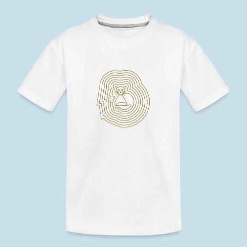 Katzenliebe - Teenager Premium Bio T-Shirt