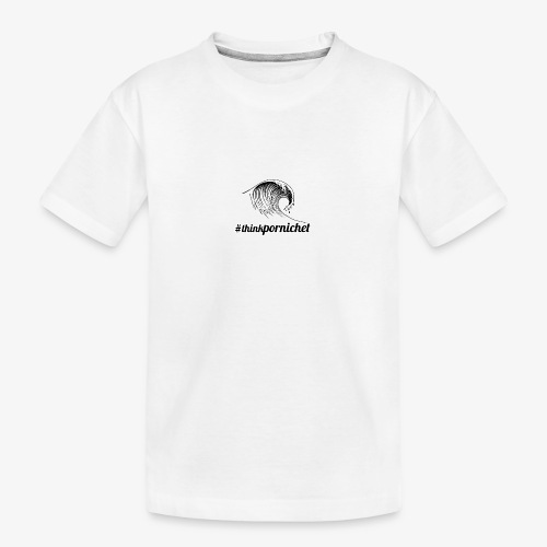 Vague Wave Thinkpornichet by DesignTouch - T-shirt bio Premium Ado