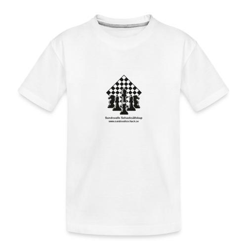 Sundsvalls Schacksällskap - Ekologisk premium-T-shirt tonåring