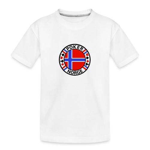 PoKeR NoRGe - Teenager Premium Organic T-Shirt
