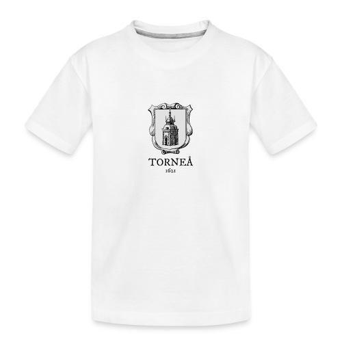 Tornea 1621 harmaa - Teinien premium luomu-t-paita
