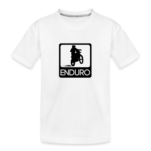 Enduro Rider - Teenager Premium Bio T-Shirt