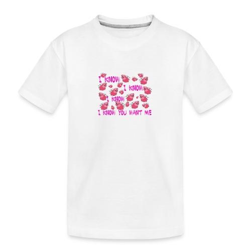 SWINE taza - Camiseta orgánica premium adolescente