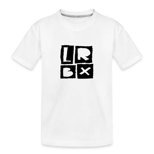 LRBX - La Roulette Bruxelles - Longboard - T-shirt bio Premium Ado