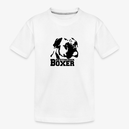 Deutscher Boxer - Teenager Premium Bio T-Shirt