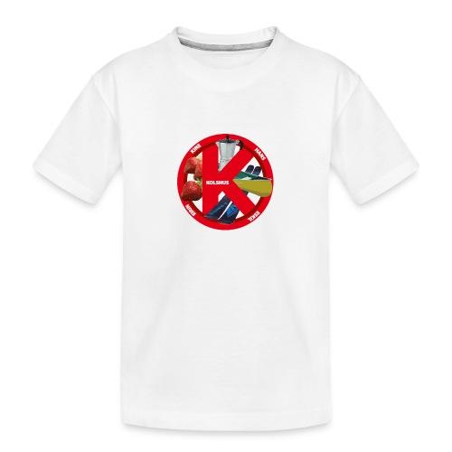 logoforeskil - Teenager Premium Organic T-Shirt