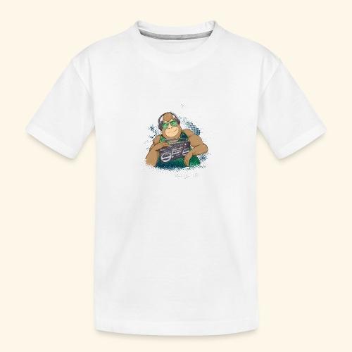 Gorilla Jungle Hiphop - Camiseta orgánica premium adolescente