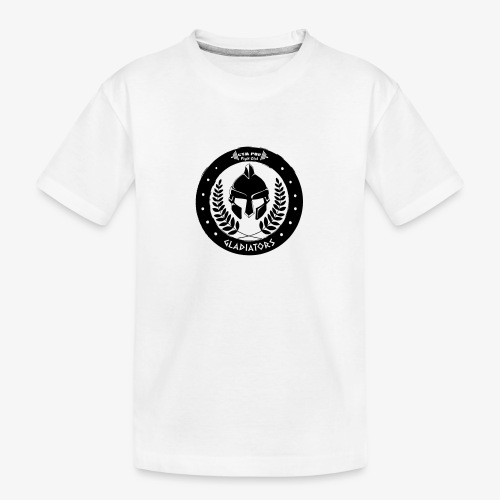 Gym Pur Gladiators Logo - Teenager Premium Organic T-Shirt