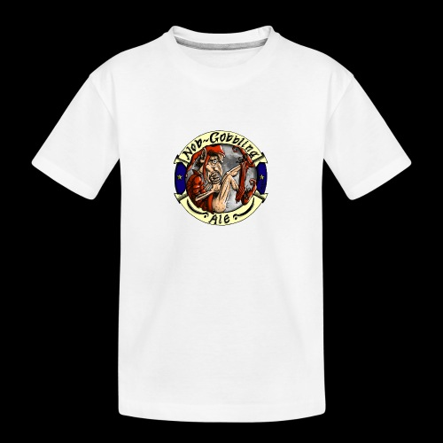Goblin Ale T-Shirt - Teenager Premium Organic T-Shirt