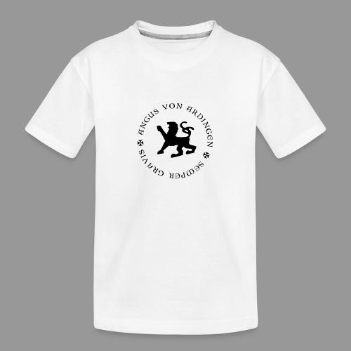angus von ardingen semper gravis - Teenager Premium Bio T-Shirt