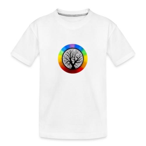 tree of life png - Teenager premium biologisch T-shirt