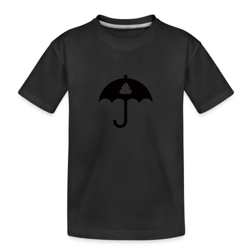 Shit icon Black png - Teenager Premium Organic T-Shirt