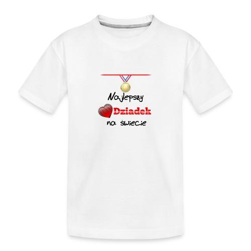 nadruk_rodzinne_01 - Ekologiczna koszulka młodzieżowa Premium