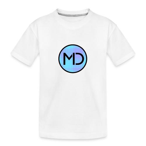 MD Blue Fibre Trans - Teenager Premium Organic T-Shirt