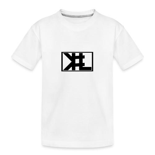 kllogga2 png - Ekologisk premium-T-shirt tonåring