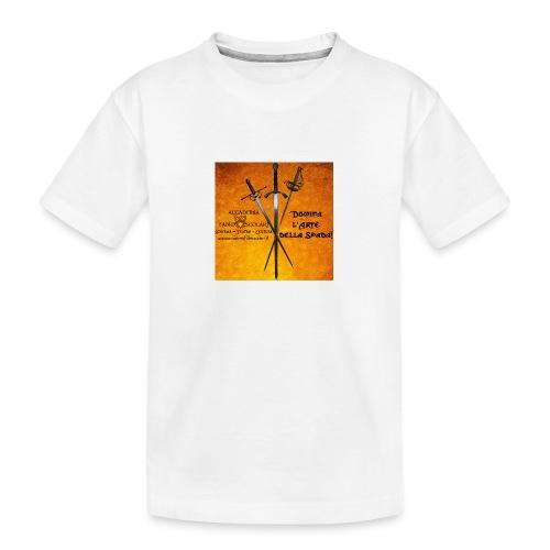 3spade-jpg - Maglietta ecologica premium per ragazzi