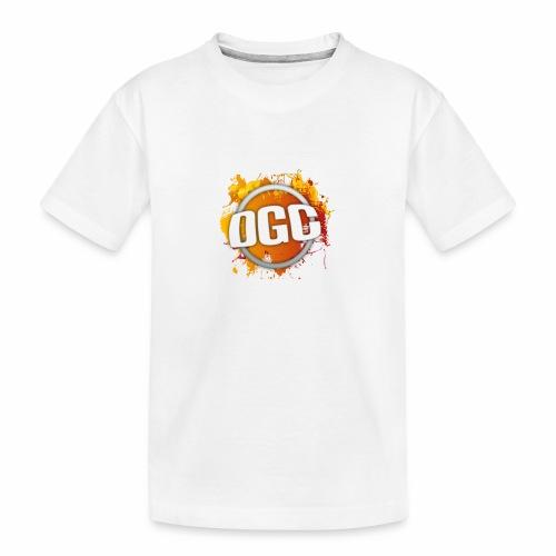 Merchlogo mega png - Teenager premium biologisch T-shirt