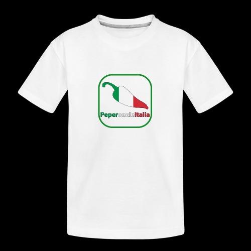 T-Shirt unisex classica. - Maglietta ecologica premium per ragazzi