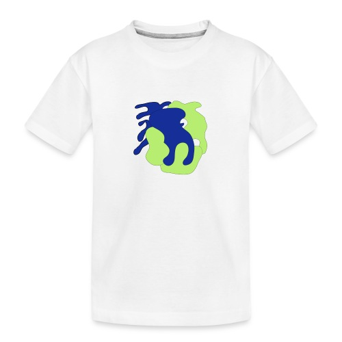 Macchie_di_colore-ai - Maglietta ecologica premium per ragazzi