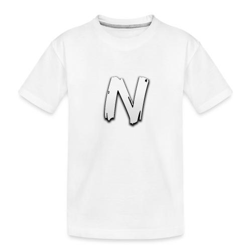 NormalNick LOGO - Teenager premium biologisch T-shirt