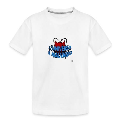 L'universo è malvagio - Maglietta ecologica premium per ragazzi