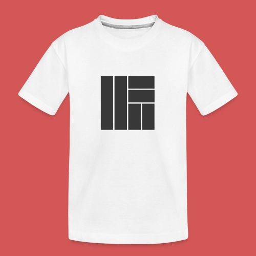 NÖRCup Black Iconic Edition - Teenager Premium Organic T-Shirt