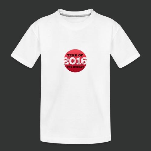 2016 year of the monkey - Teenager Premium Organic T-Shirt