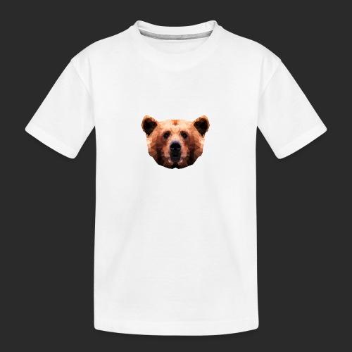 Low-Poly Bear - Teenager Premium Bio T-Shirt