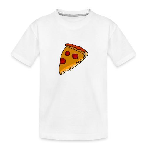 pizza - Teenager premium T-shirt økologisk