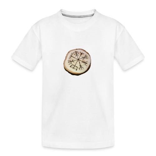VHEH - Vegvísir - Teenager Premium Organic T-Shirt