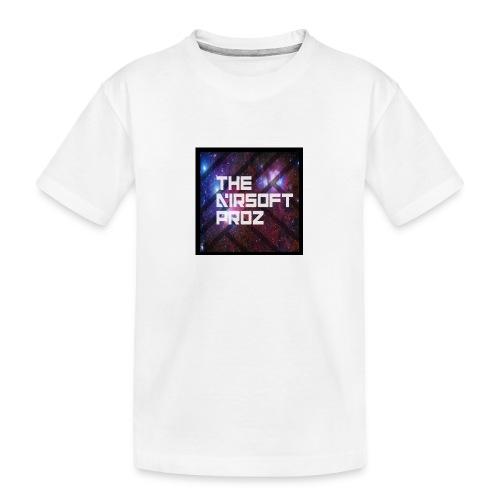 TheAirsoftProz Galaxy Mens Long Sleeve - Teenager Premium Organic T-Shirt