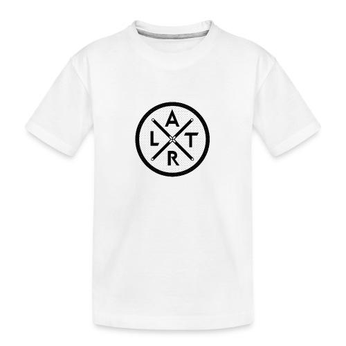 Wheel Hoodie White - Ekologiczna koszulka młodzieżowa Premium