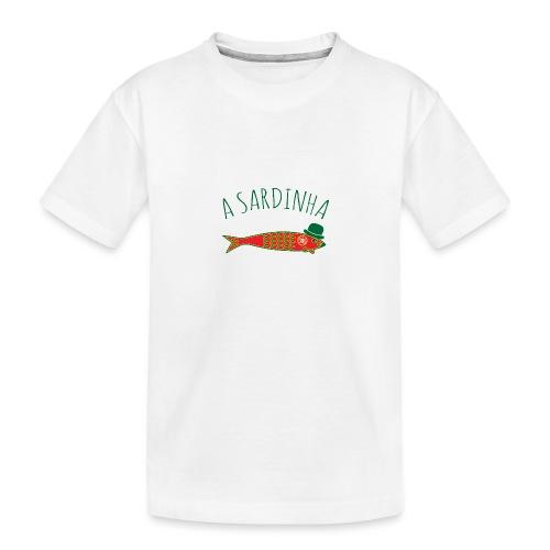 A Sardinha - Bandeira - T-shirt bio Premium Ado